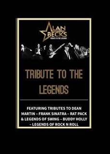 Alan Becks Tribute Artist to Dean Martin, Frank Sinatra, Buddy Holly, Swing, Ratpack & Rock and Roll