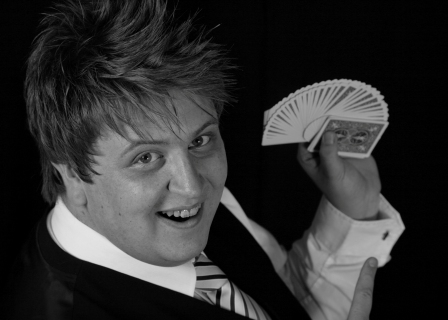 Ash Arnold Close up Magician, Comedy Stage Hypnotist, Northumberland