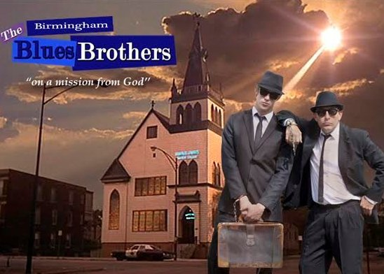 Birmingham Blues Brothers are a Tribute to the Blues Brothers Duo