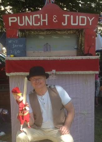 Clive Hodgson Punch & Judy Co Durham