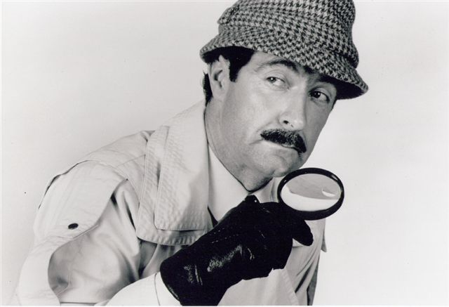 Charles Haslett as Inspector Clouseau of Pink Panther