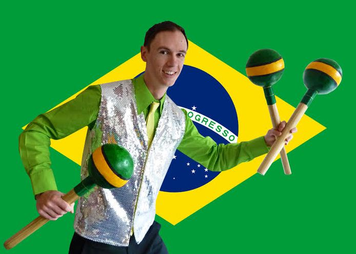 Chris Marley Brazilian Theme Juggling 2016 Rio Olympics
