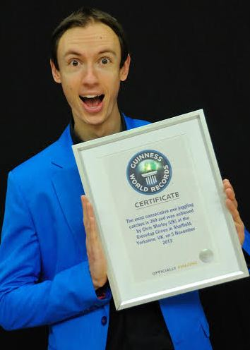 Chris Marley Guinnes Book Of Records