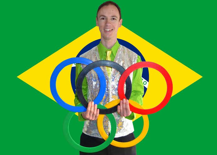 Chris Marley Rio Olympics Themed Juggler