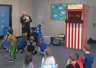 Punch & Judy & Magic with Clive Ace