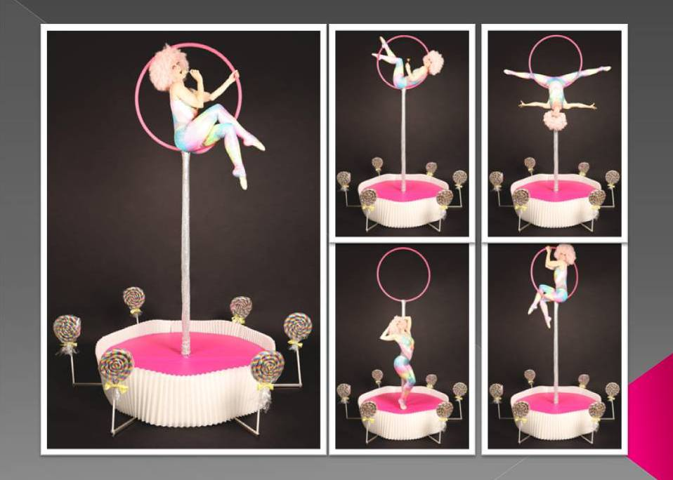 'Lollipop' Aerial Performance by Dream Performance London
