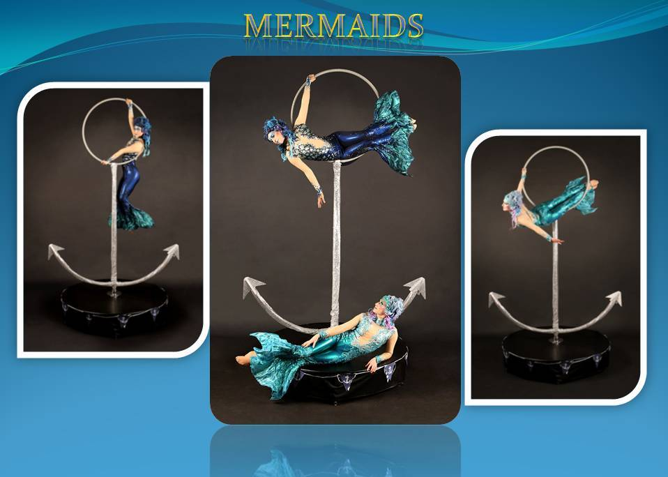Mermaids Aerial Act Freestanding, by Dream Performance of London