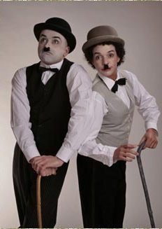 Charlie Chaplin Mime Artistes by Electric Cabaret