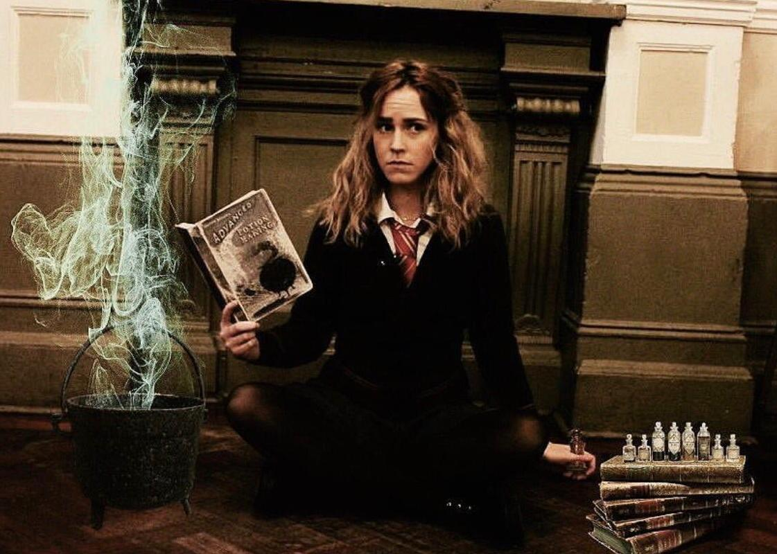 Megan Flockhart as Hermione Grainger Lookalike from Harry Potter Films