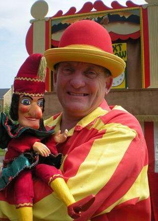 Ron Wood Punch & Judy North Yorkshire