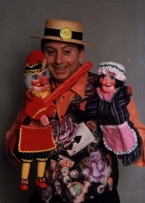 Ron Popple Punch & Judy West Midlands