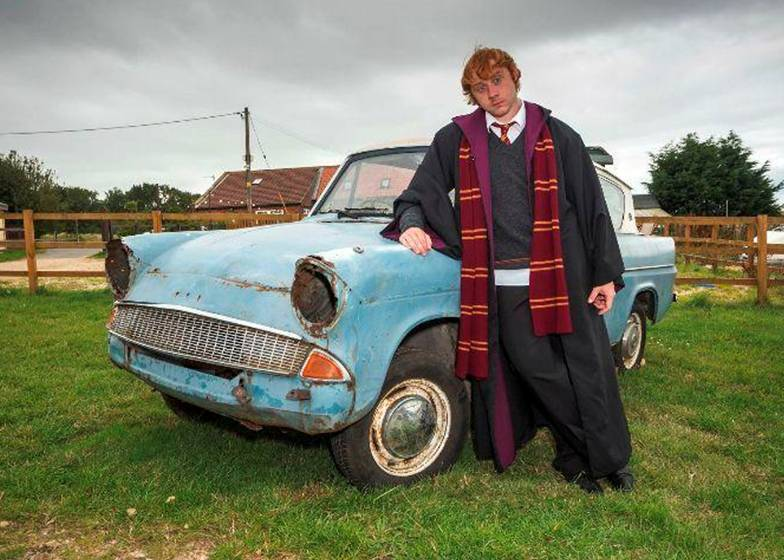 Ron Lewis as Ron Weasley Lookalike from Harry Potter