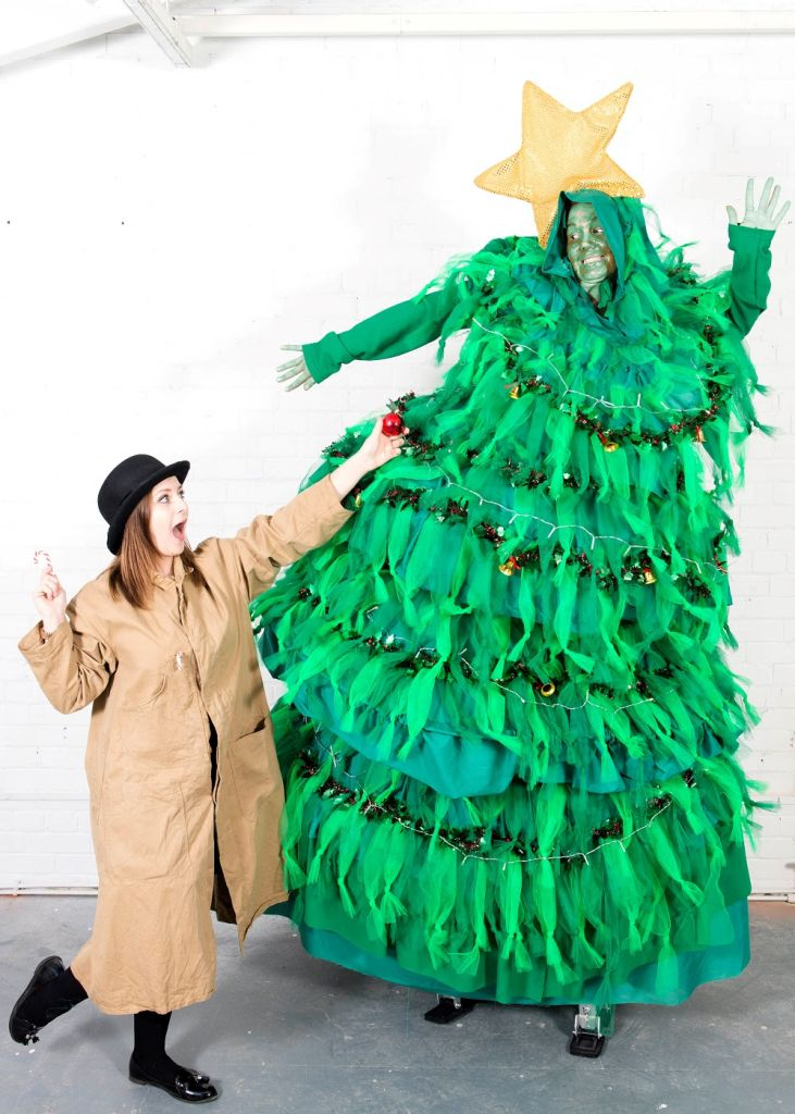 Naughty Christmas Trees by Same Difference Arts