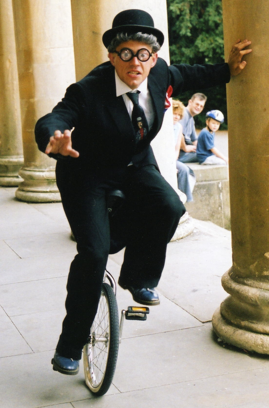Thomas Trilby Unicyclist Juggler Gloucestershire