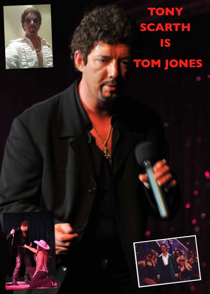 Tony Scarth as Tom Jones Tribute Merseyside