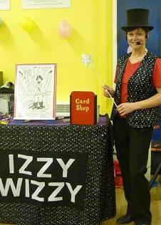 Tracey Class as Izzy Wizzy Magician Teesside